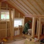 3階木工事